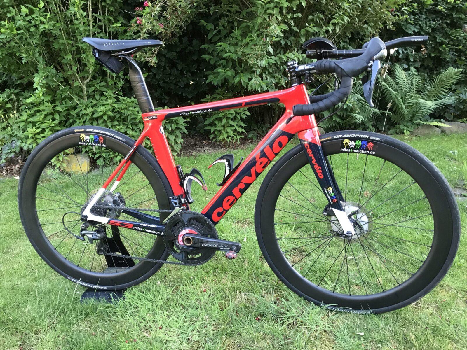 The bike…