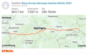 Read more about the article Race Across Germany, the report